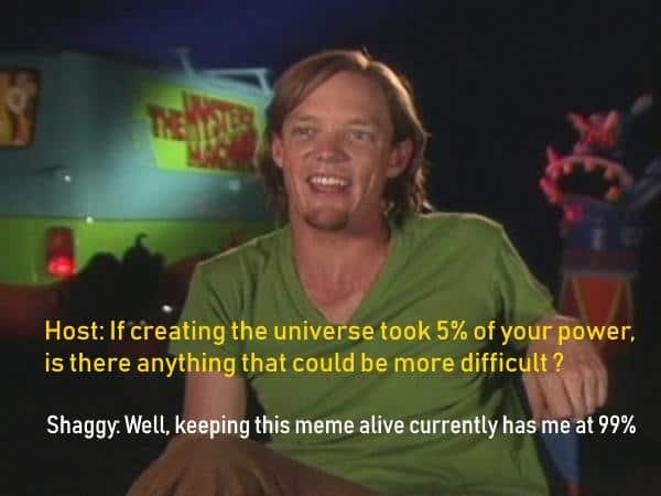 Top 10 Shaggy Meme God