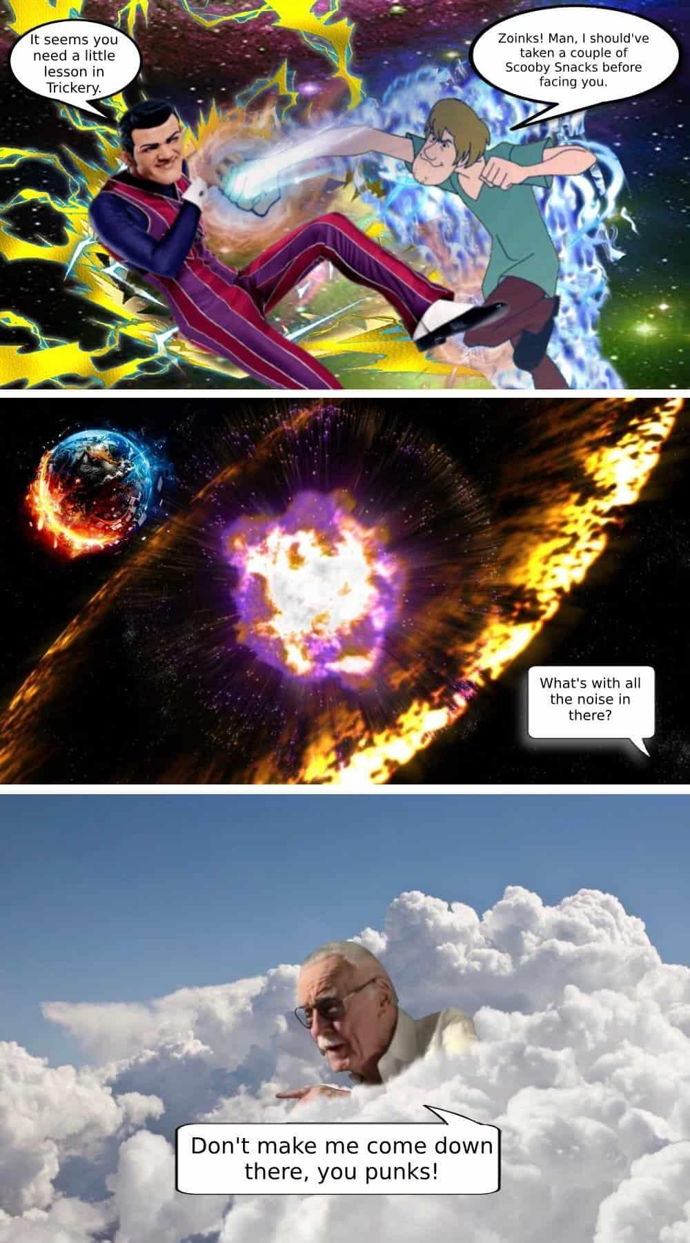 Top 10 Shaggy Meme God2