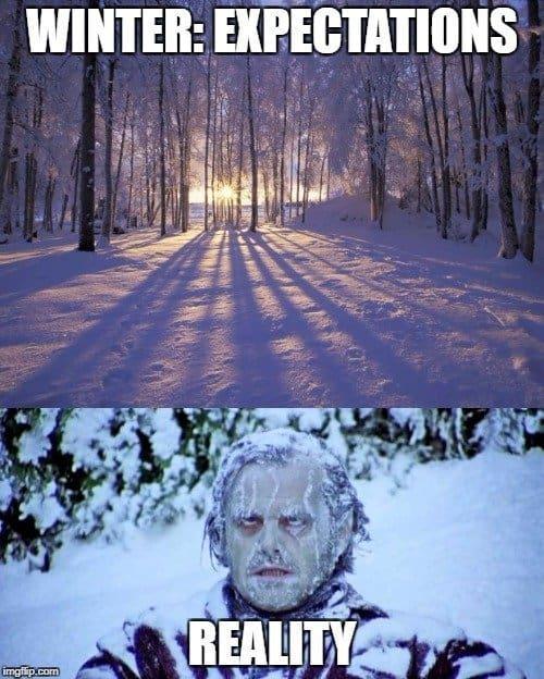 Top 7 Freezing Meme