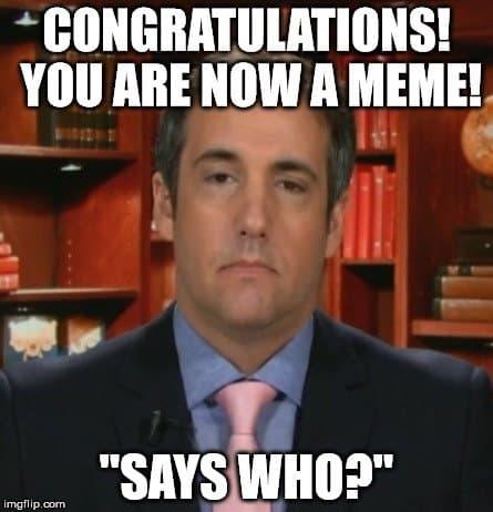 Top 20+ Cohen Memes