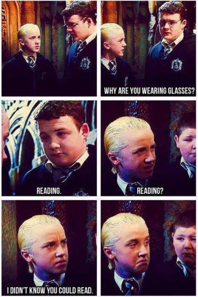 20 Harry Potter & Draco Malfoy Funny Memes