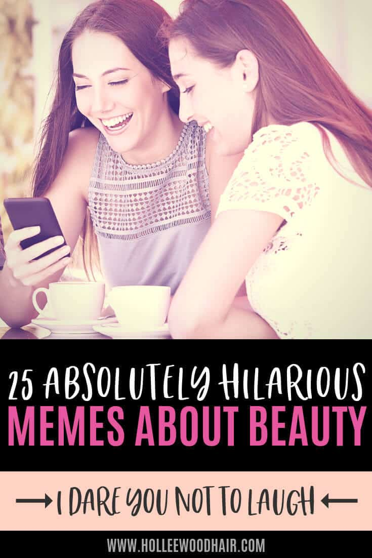 Are you addicted to beauty products? Do you spend hours following tutorials online? If so, you'll love these relatable memes about beauty... #Beauty #Memes #Funny