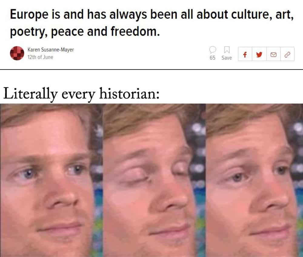 25 Funny History Memes laughing 1