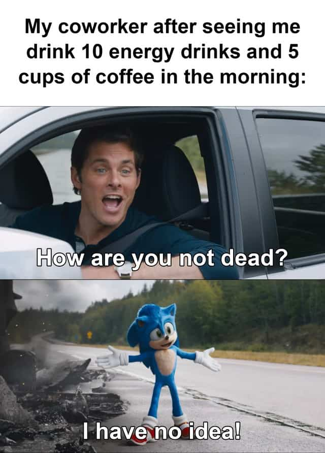 21 How Are You Not Dead Sonic Memes 2
