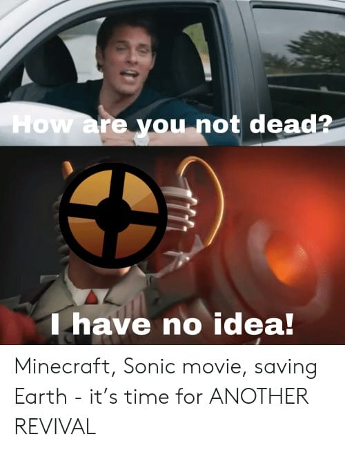 21 How Are You Not Dead Sonic Memes 5