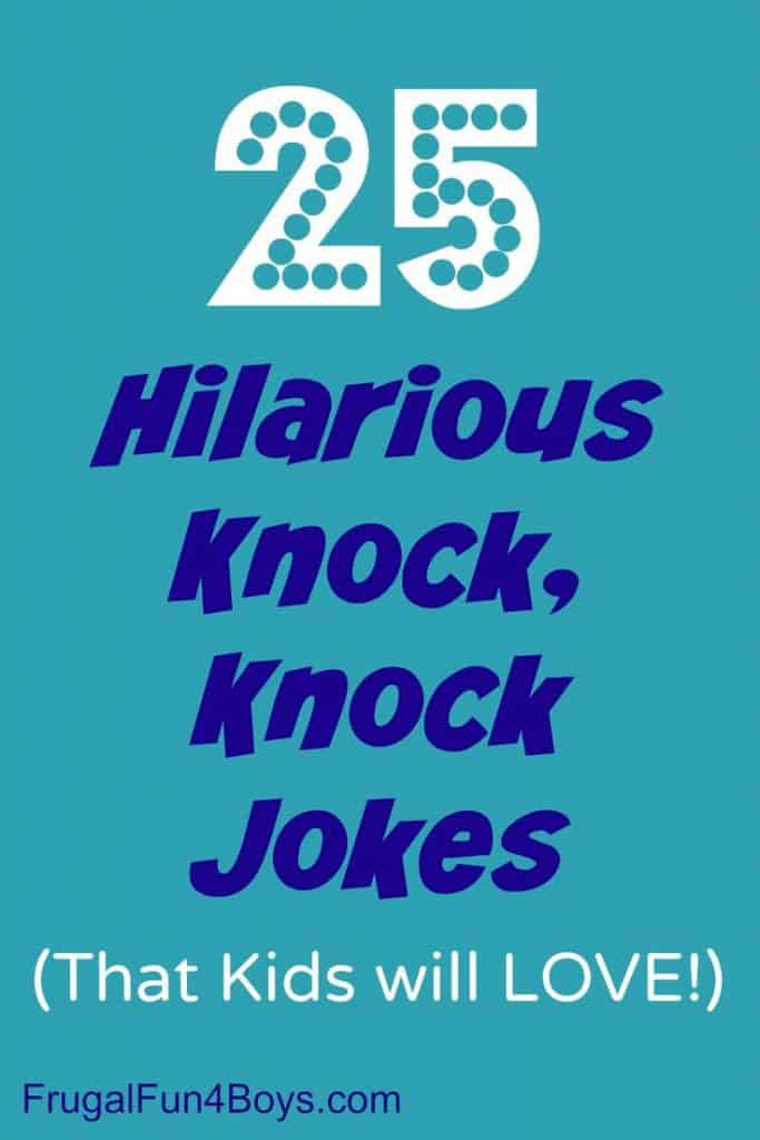 16 Knock Knock Jokes For Kids Tongue Twisters 7