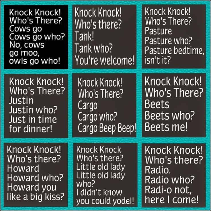 19 Knock Knock Jokes For Kids Children 12