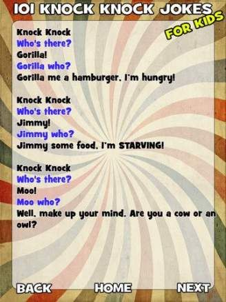 19 Knock Knock Jokes For Kids Children 13