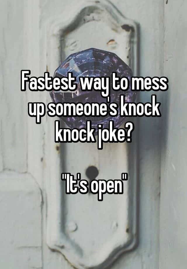 19 Knock Knock Jokes For Kids Children 8