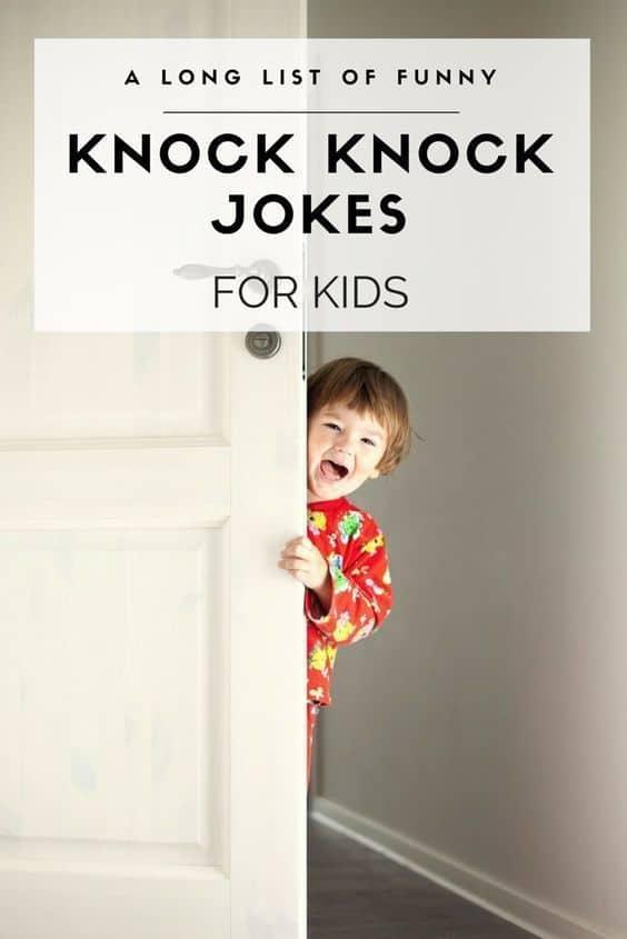19 Knock Knock Jokes For Kids Funny 2