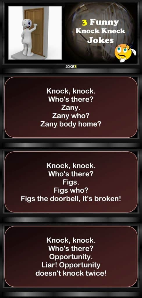 20 Knock Knock Jokes For Kids Hilarious 13