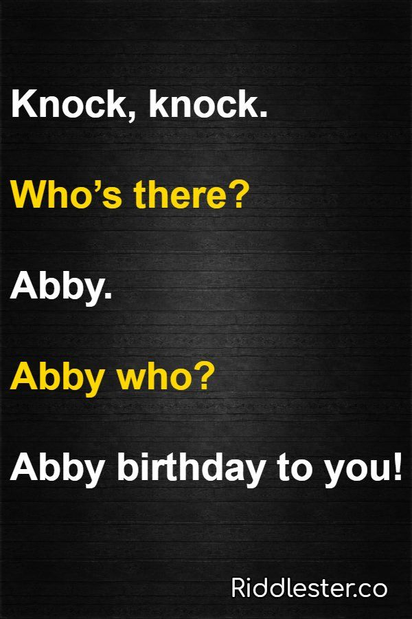 21 Knock Knock Jokes For Kids Dads 8