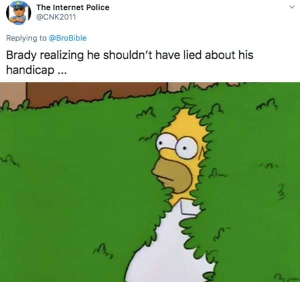 21 Tom Brady Golf Memes 7
