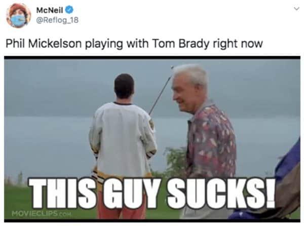 21 Tom Brady Golf Memes 8