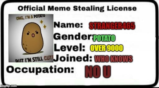 33 Meme Stealing License 2