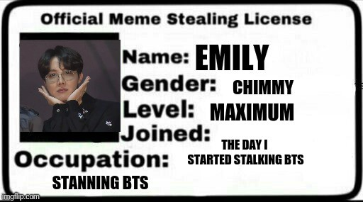 33 Meme Stealing License 5