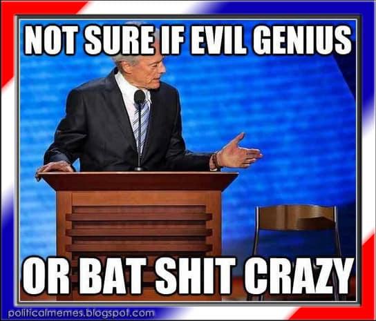 19 Clint Eastwood Empty Chair Meme 10