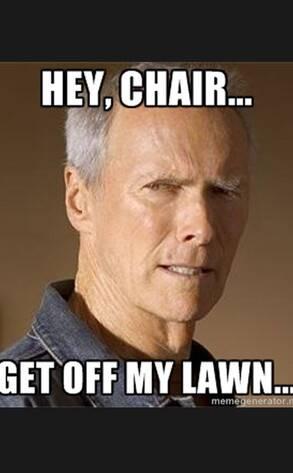 19 Clint Eastwood Empty Chair Meme 12