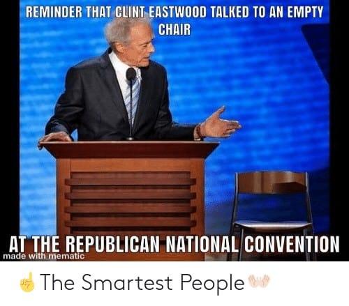 19 Clint Eastwood Empty Chair Meme 5 1