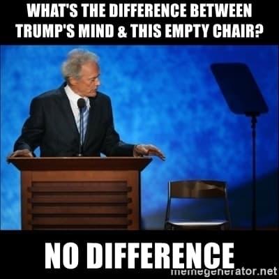 19 Clint Eastwood Empty Chair Meme 5