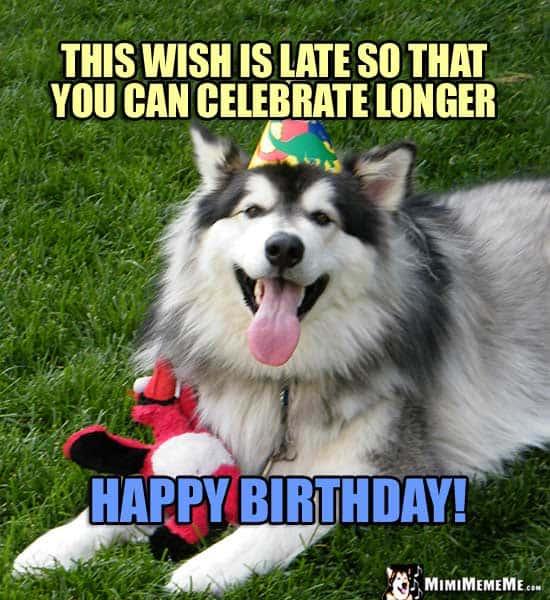 33 belated birthday meme 10
