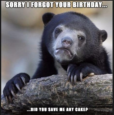 33 belated birthday meme 19