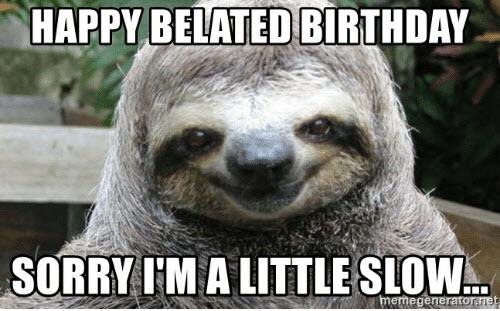 33 belated birthday meme 23