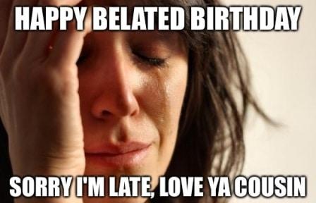 33 belated birthday meme 25