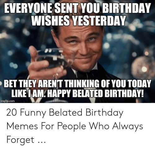 33 belated birthday meme 3 1