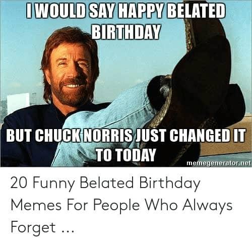 33 belated birthday meme 8 1