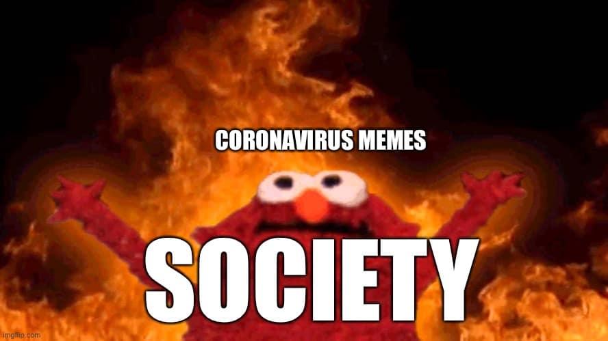 Elmo Fire Meme 2