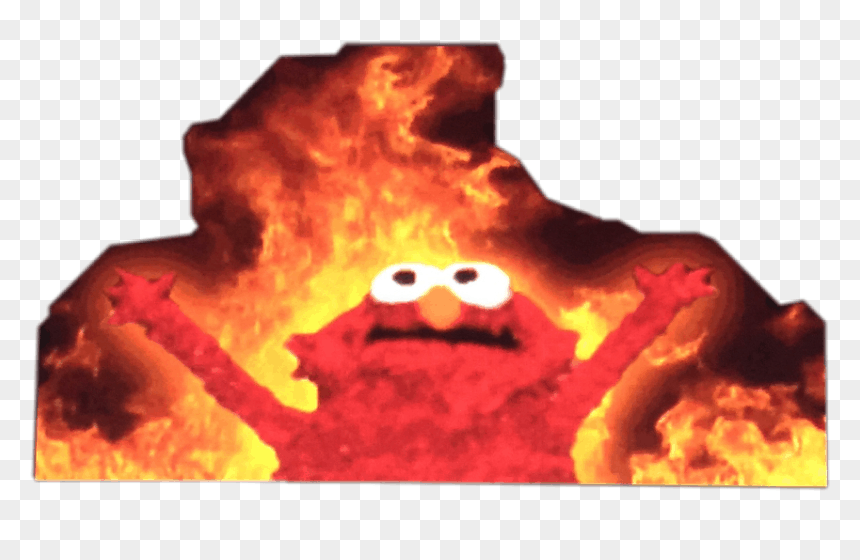 Elmo Fire Meme 3