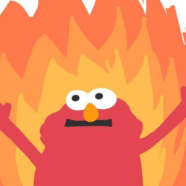 Elmo Fire Meme 6