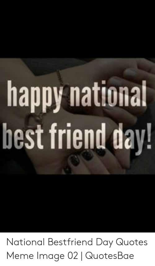 National Best Friends Day Meme 10 1
