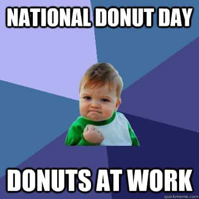 National Donut Day Memes 3
