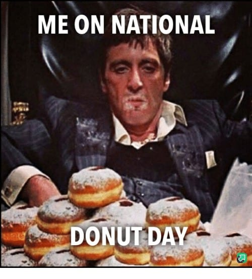 National Donut Day Memes 4 1