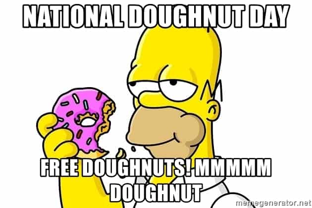 National Donut Day Memes 6