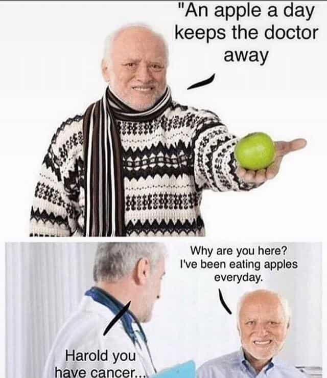37 Lucrative Pain Memes & Hide The Pain Harold - Memes Feel