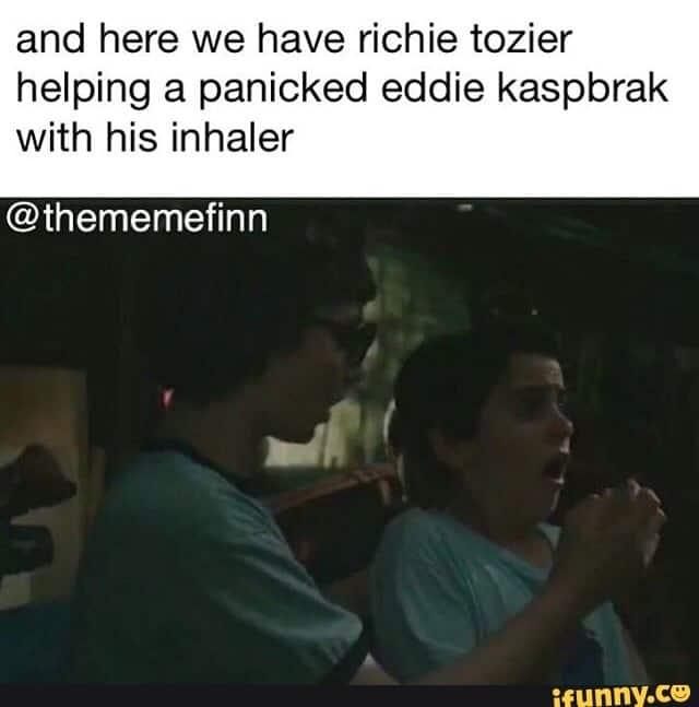 Richie Tozier Memes 10
