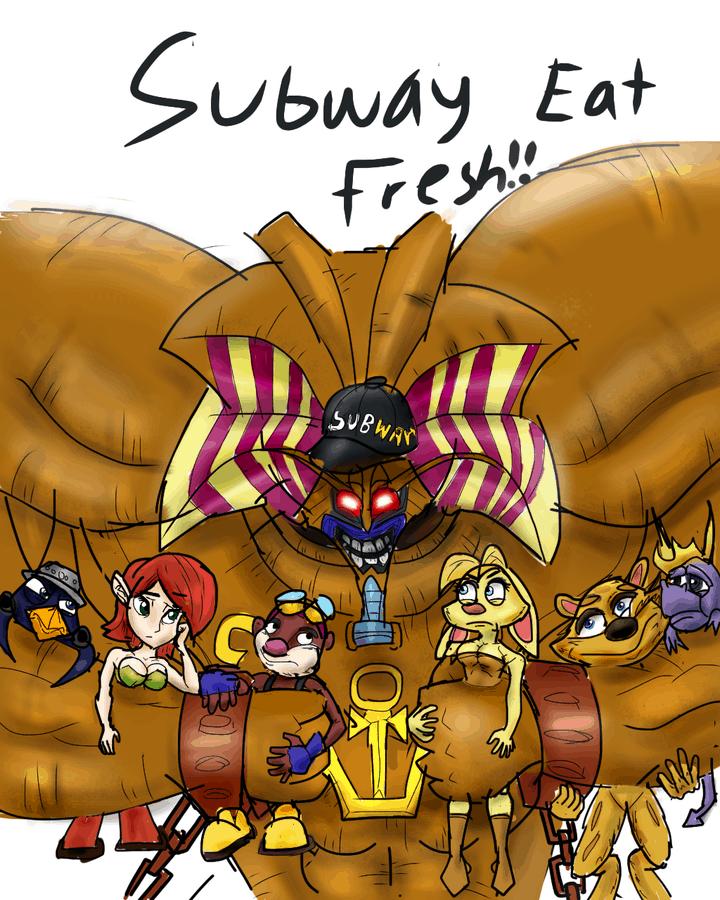 Spyro Subway Meme 710