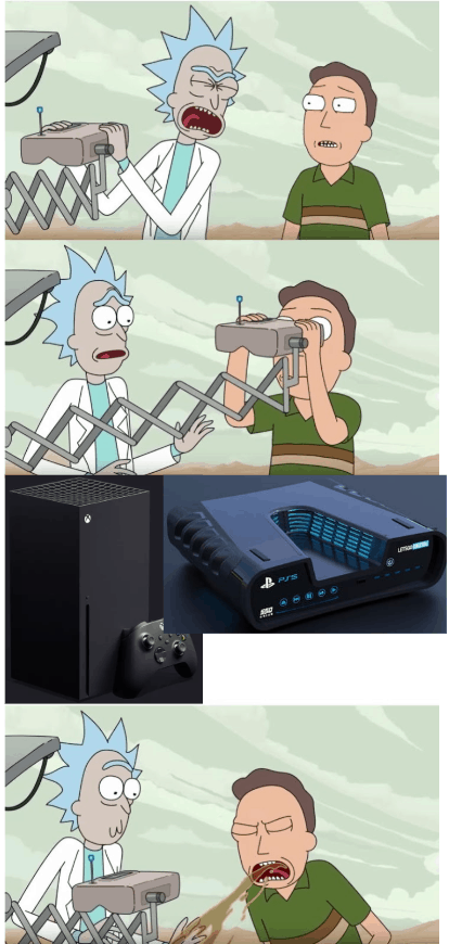 Xbox Series X And Ps5 Meme 3