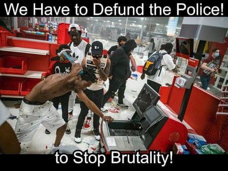 defund police meme 11