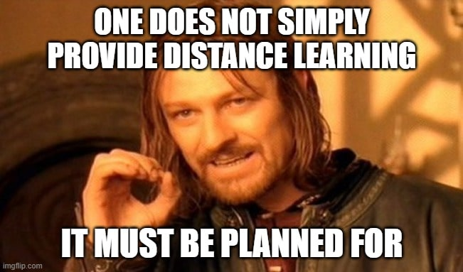 remote learning memes 3