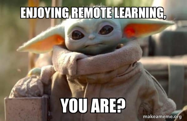 remote learning memes 7