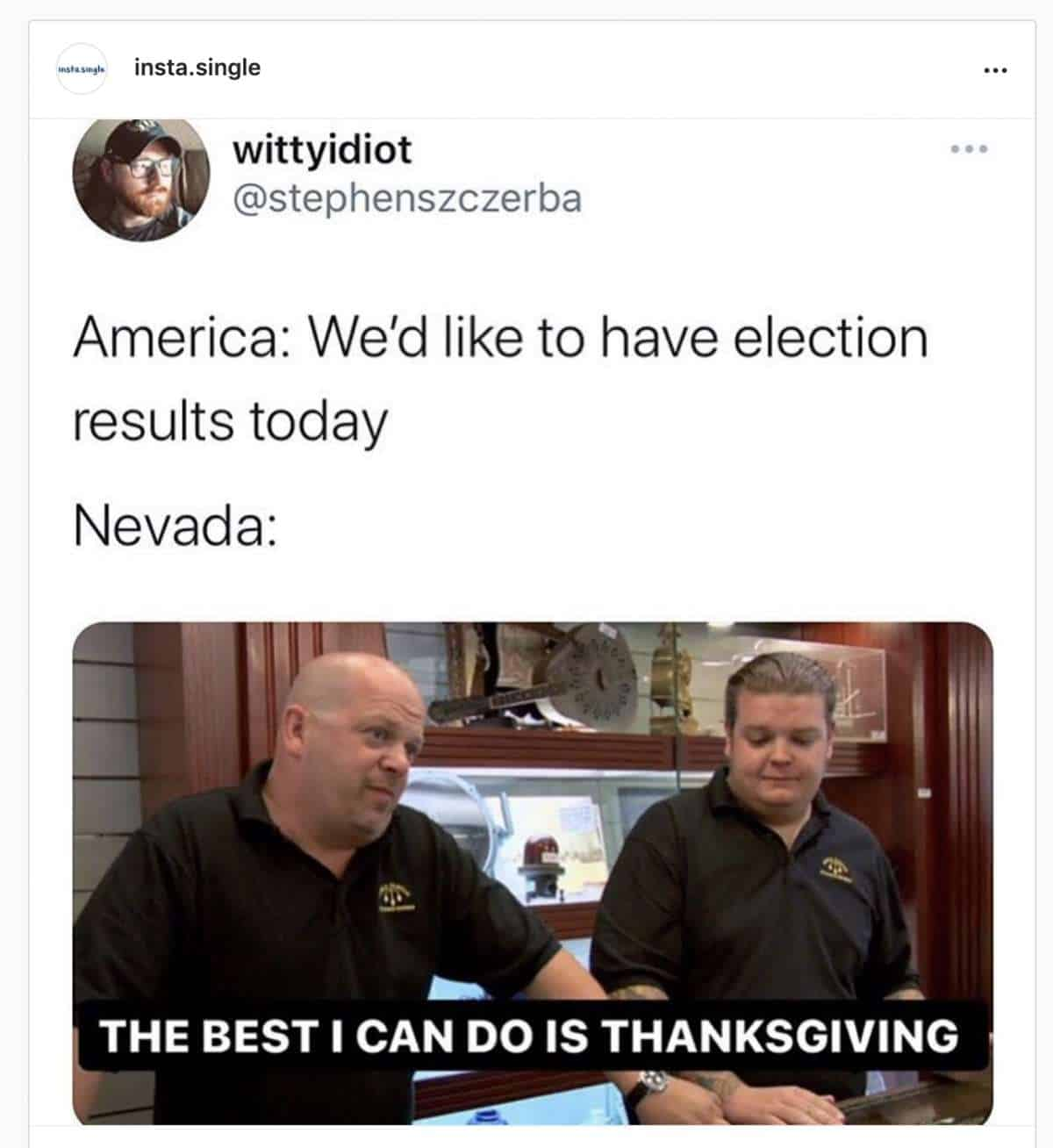 Explosive 19 Nevada Counting Votes Meme 2
