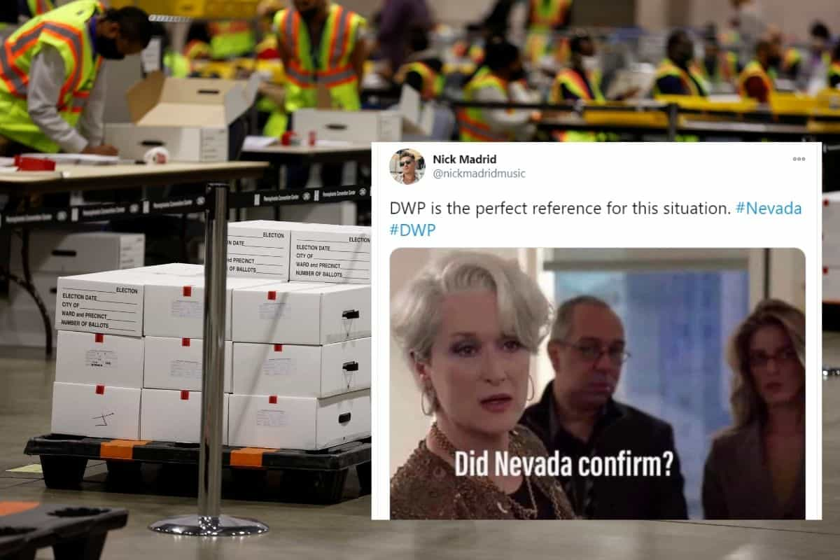 Explosive 19 Nevada Counting Votes Meme 8