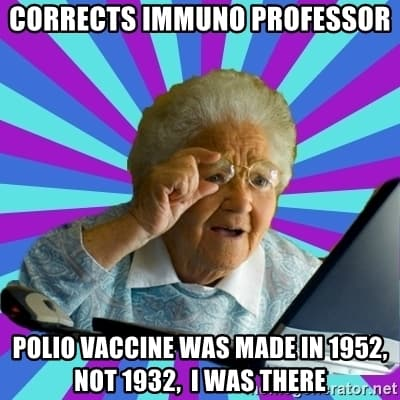 27 Old Lady Vaccine Meme 9