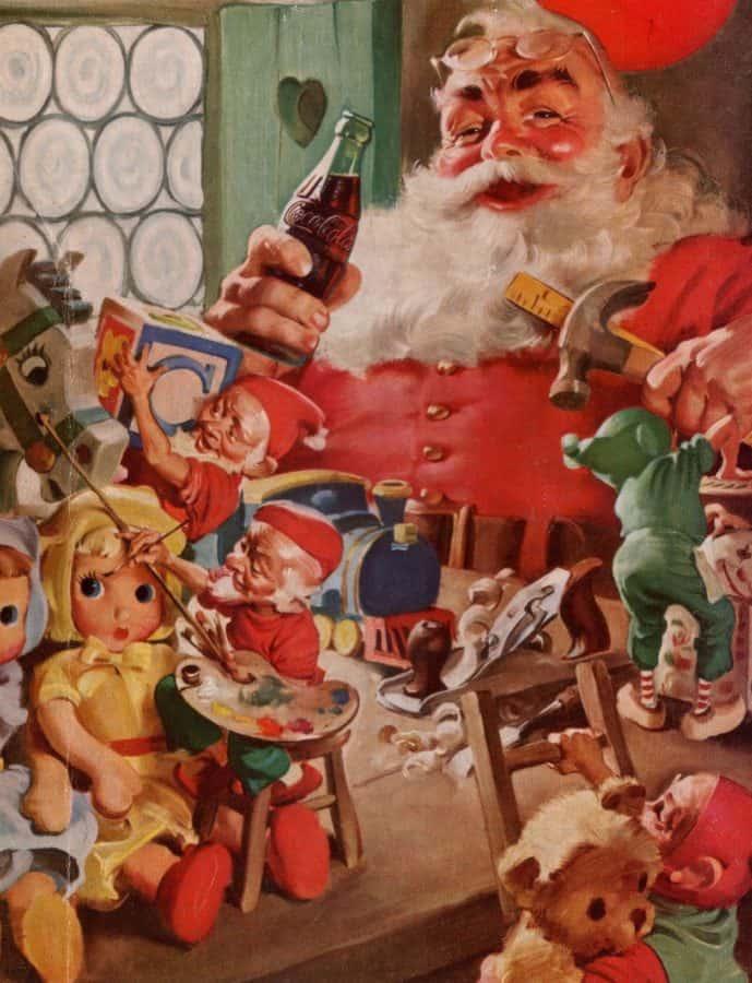 Santa Claus in 20 century