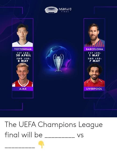 Champions League Final Memes 4 1