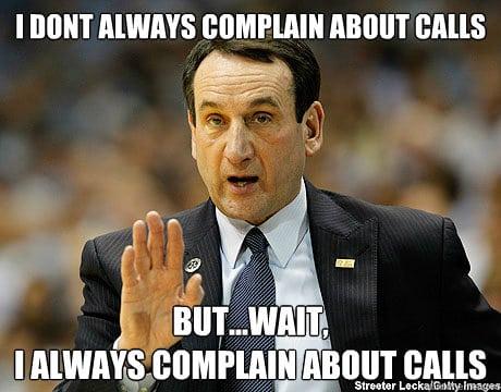 Coach K Meme 17